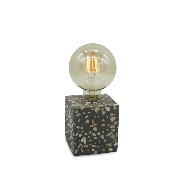 wholesale new design cement bedside lamp ,concrete led table lamp,bedside table lamp