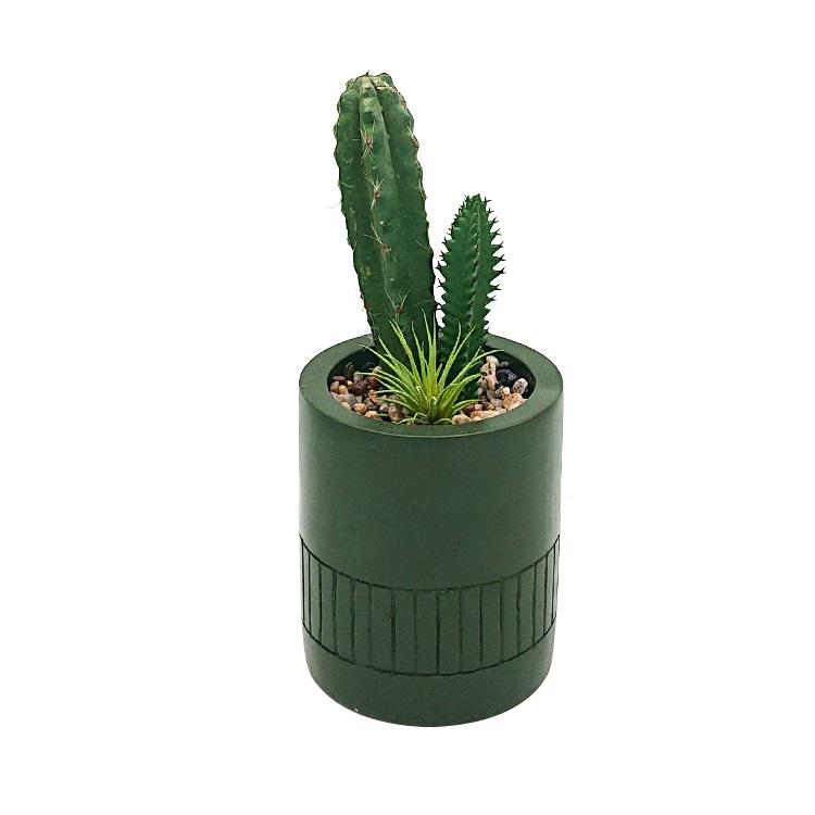Cheap home decorative artificial succulent cactus mini artificial plants in pots