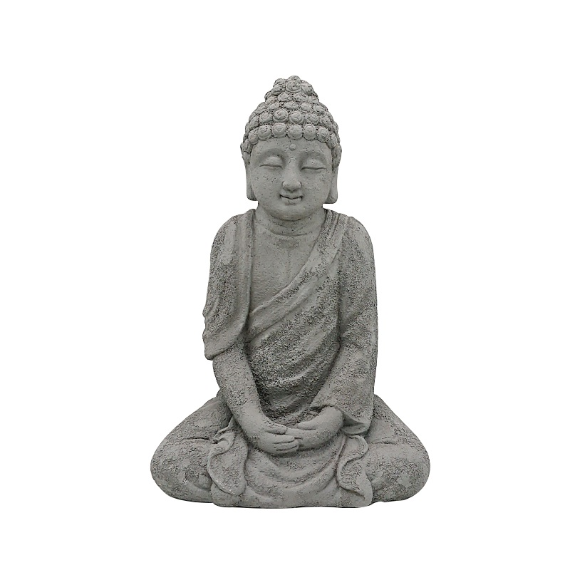 Custom cement Handmade Decorative Small Cement Buddha Statues for sale buddha sculpture